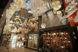 We Got Lites Staten Island, NY lighting store display room