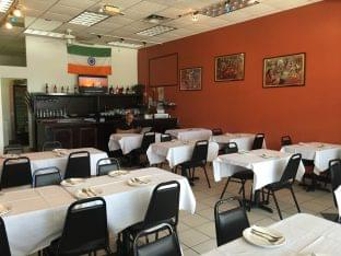 Apna Taste of Punjab Indian Restaurant Kissimmee, FL seating