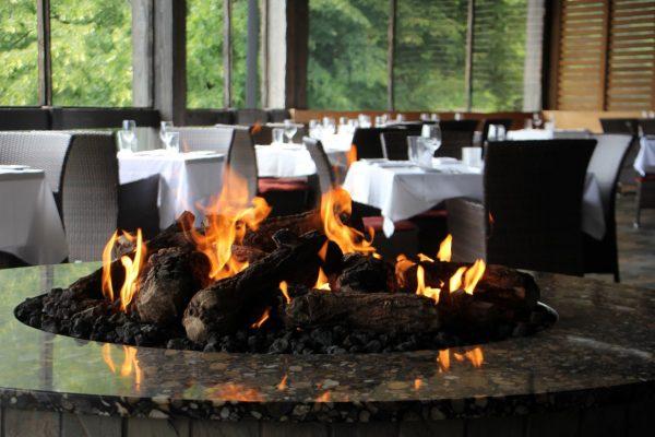 The ChopHouse steak house Gibbsboro NJ outdoor patio fire pit