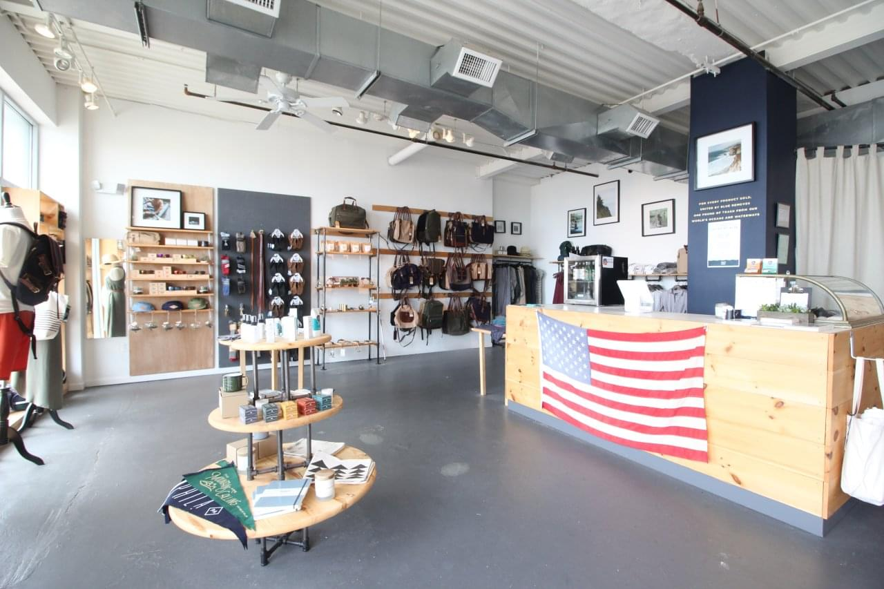 United by Blue – Asbury Park, NJ Boardwalk Clothing Store – See-Inside