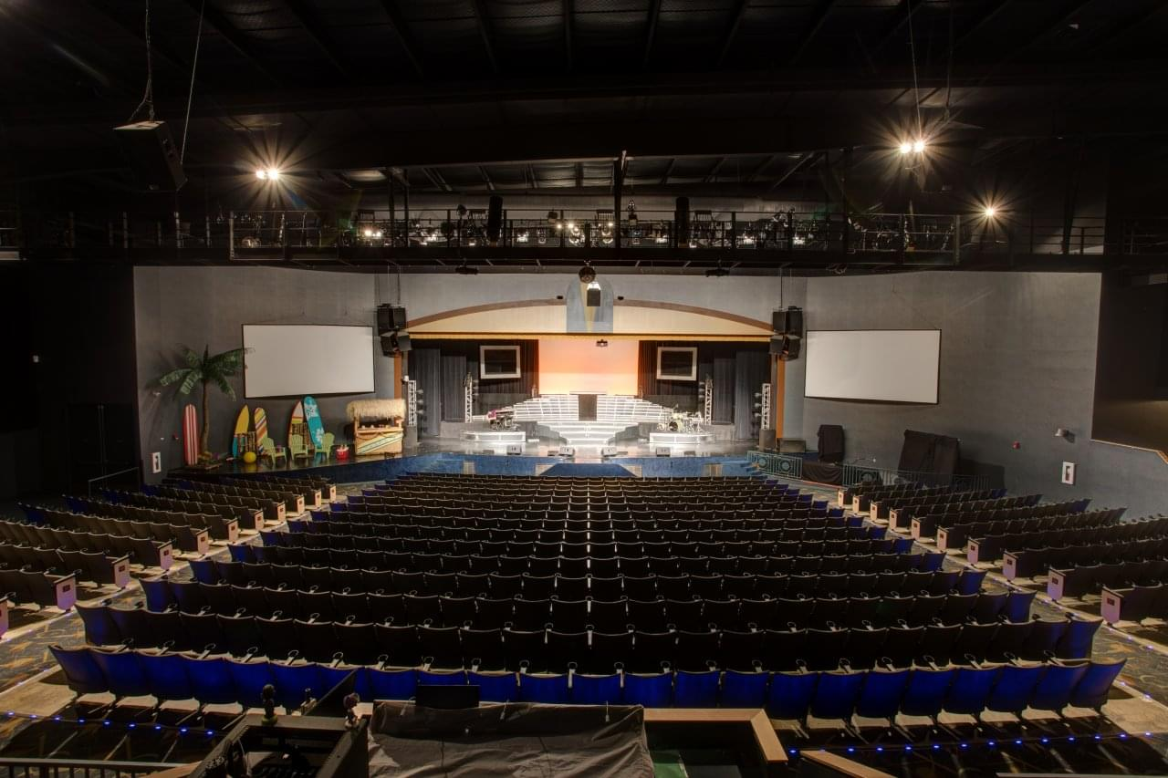 Legends In Concert Hall Theater seating Branson, MO