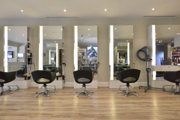 Taz Hair Company Toronto CA hair salon chair stations