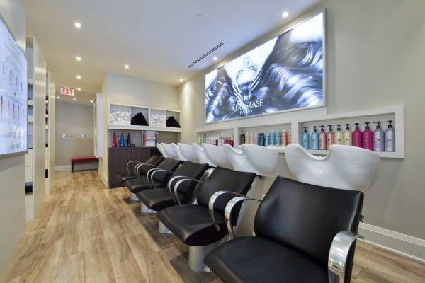 Taz Hair Company Toronto CA hair salon wash basin