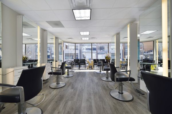 Taz Hair Company Toronto ON Canada Hairdresser Salon barber chairs mirrors