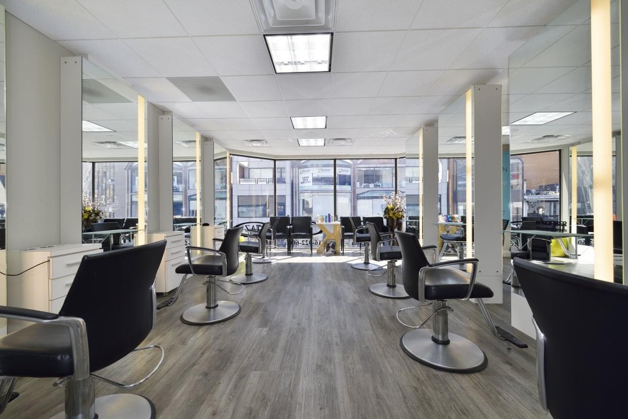 Taz hair co see inside hair salon toronto on for Salon furniture canada