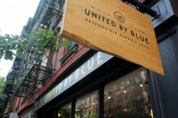 United By Blue Nolita, New York, NY front sign