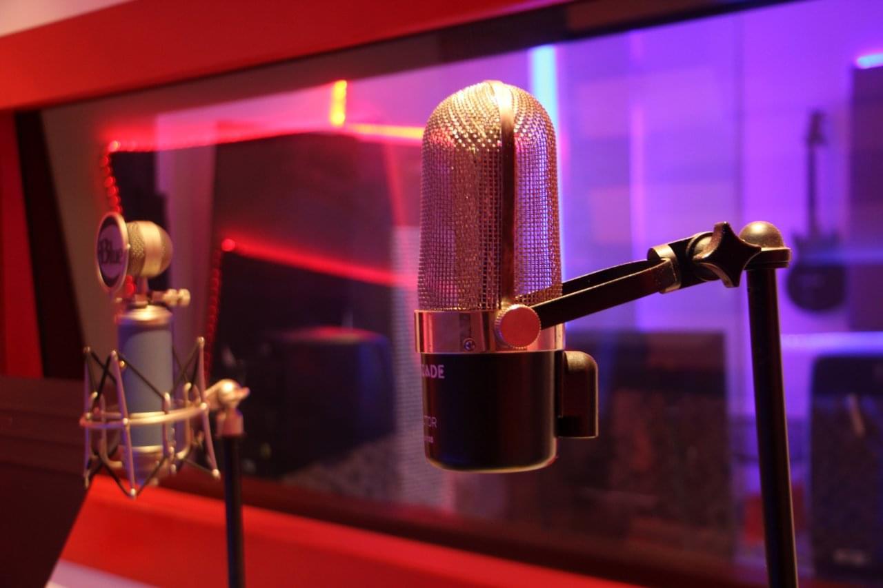 Audemus Enterprises Music Recording Studio Bronx NY mics microphones