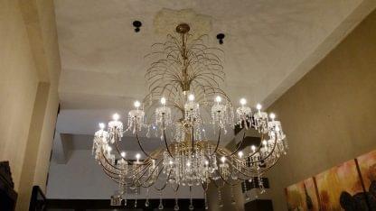 CasaBlanca Hotel San Juan Puerto Rico chandelier
