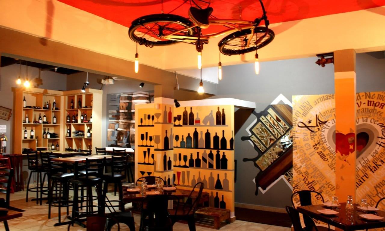Mashawi Divino Guaynabo Puerto Rico restaurant interior