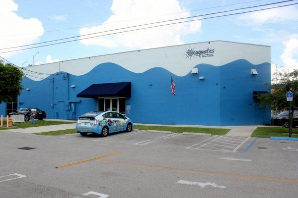 Ocaquatics Swim School Tropical Miami, FL front entrance