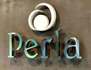 Perla Restaurant San Juan Puerto Rico logo sign