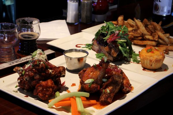 The Beer Spot & Grill Sports Bar Fort Lee NJ bbq wings ribs fries corn bread