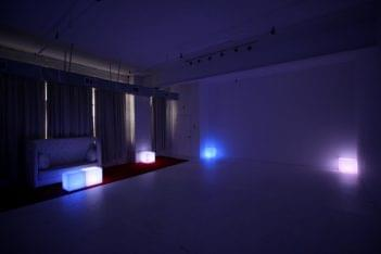 Walnut Loft Uptown Rec Room Bronx NY dark lights event space