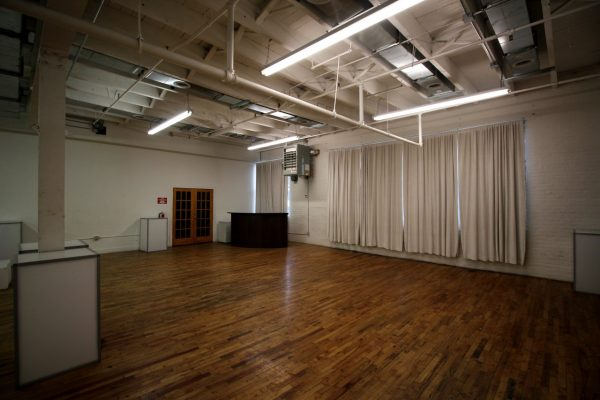Walnut Loft Uptown Rec Room Bronx NY event space corner bar area