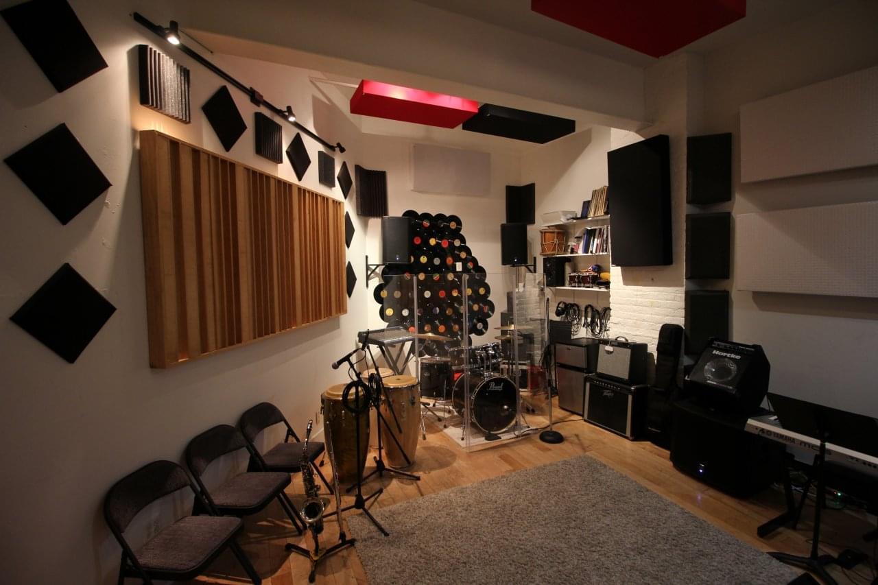 Lush Music Rehearsal Studios – Bronx, NY Recording Studio See-Inside