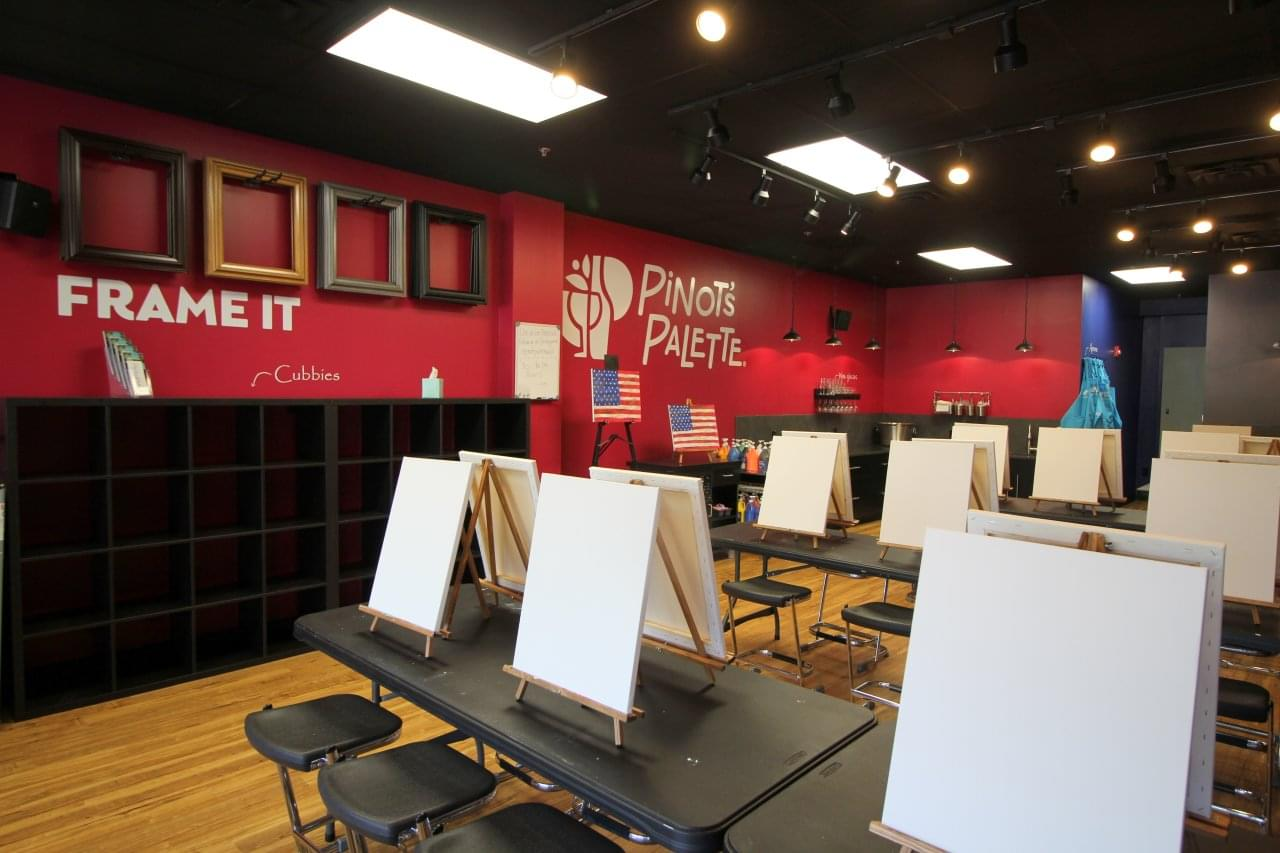 Pinots Palette, Wall Township NJ – See-Inside Wine & Painting