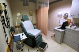 Gigliotti Family Medicine Berlin NJ doctor's office exam room chair
