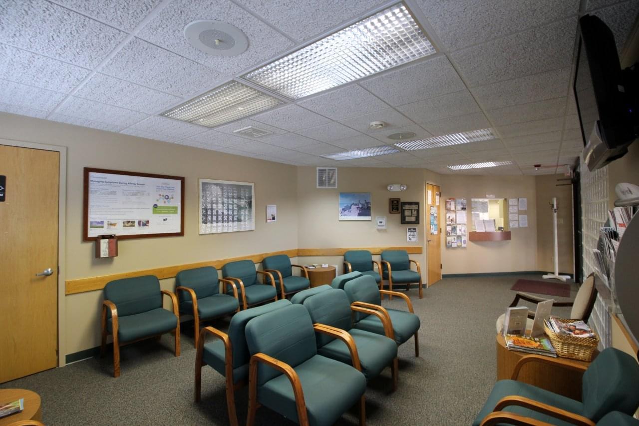 Gigliotti Family Medicine Berlin NJ doctor's office waiting room reception