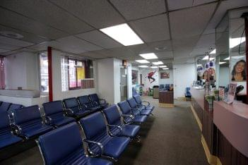 American Dental Office Bronx, NY dentist waiting room