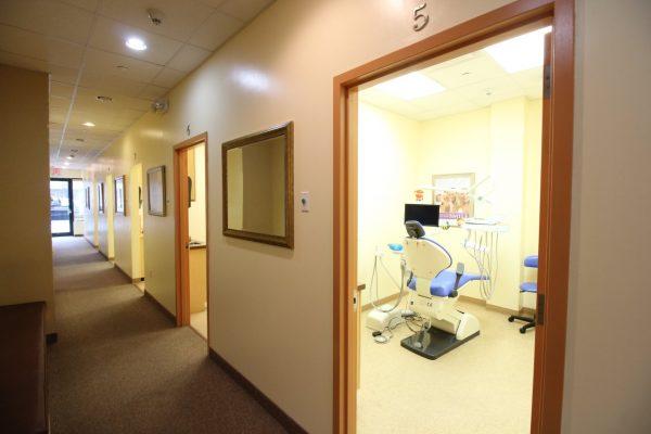 American Dental Office Hicksville, NY Dentist exam rooms