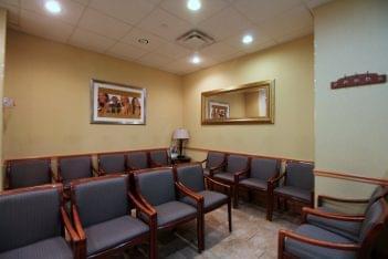American Dental Office Hicksville, NY reception waiting room