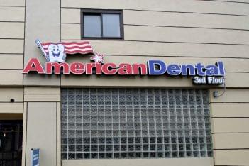 American Dental Office sign Hempstead NY Dentist