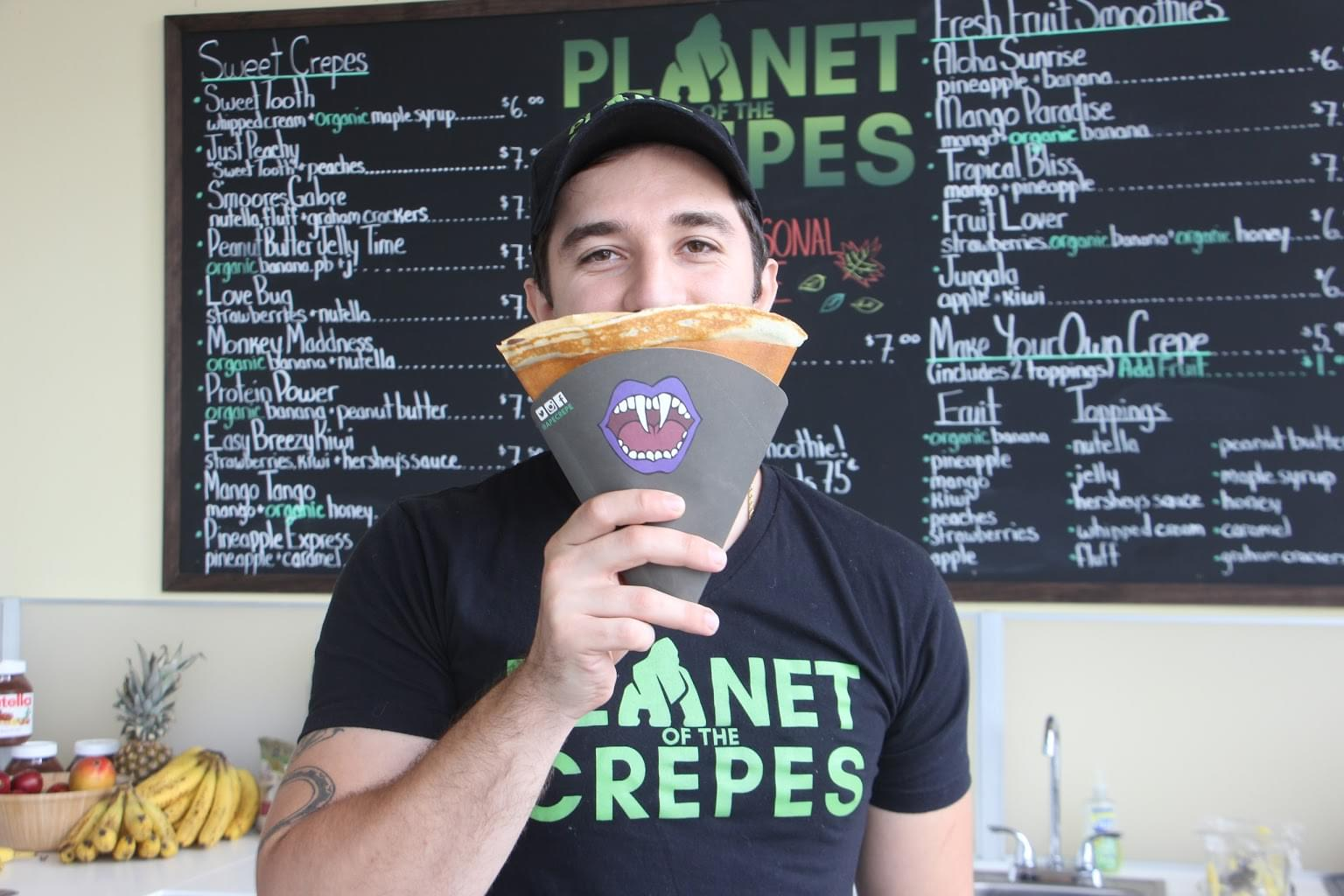 Planet of the Crepes, Tinton Falls NJ – See-Inside Restaurant