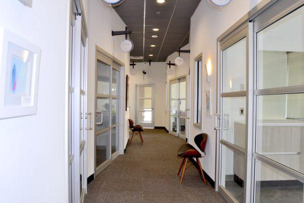 Sola Salon Studios Chandler, AZ hallway