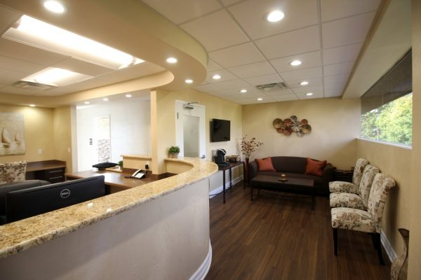 Tenafly Dental Spa Tenafly, NJ dentist waiting room reception