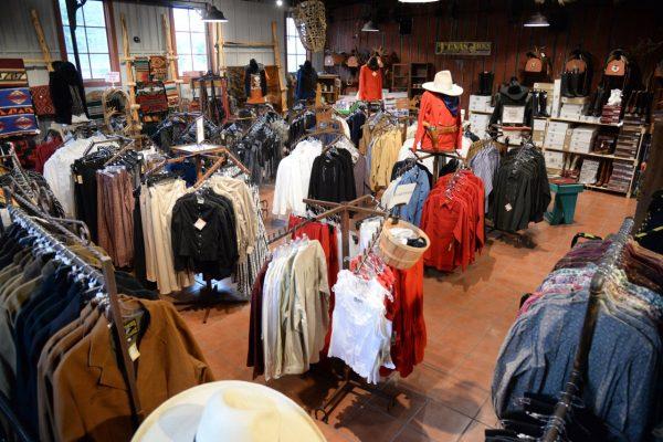 Texas Jack Wild West Outfitter Fredericksburg, TX western apparel store shirts