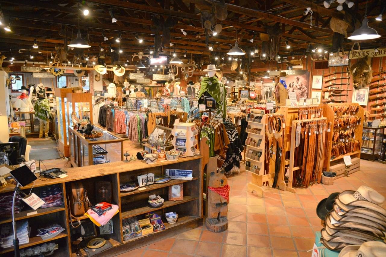 Texas Jack Wild West Outfitter – Fredericksburg, TX – See-Inside retail store