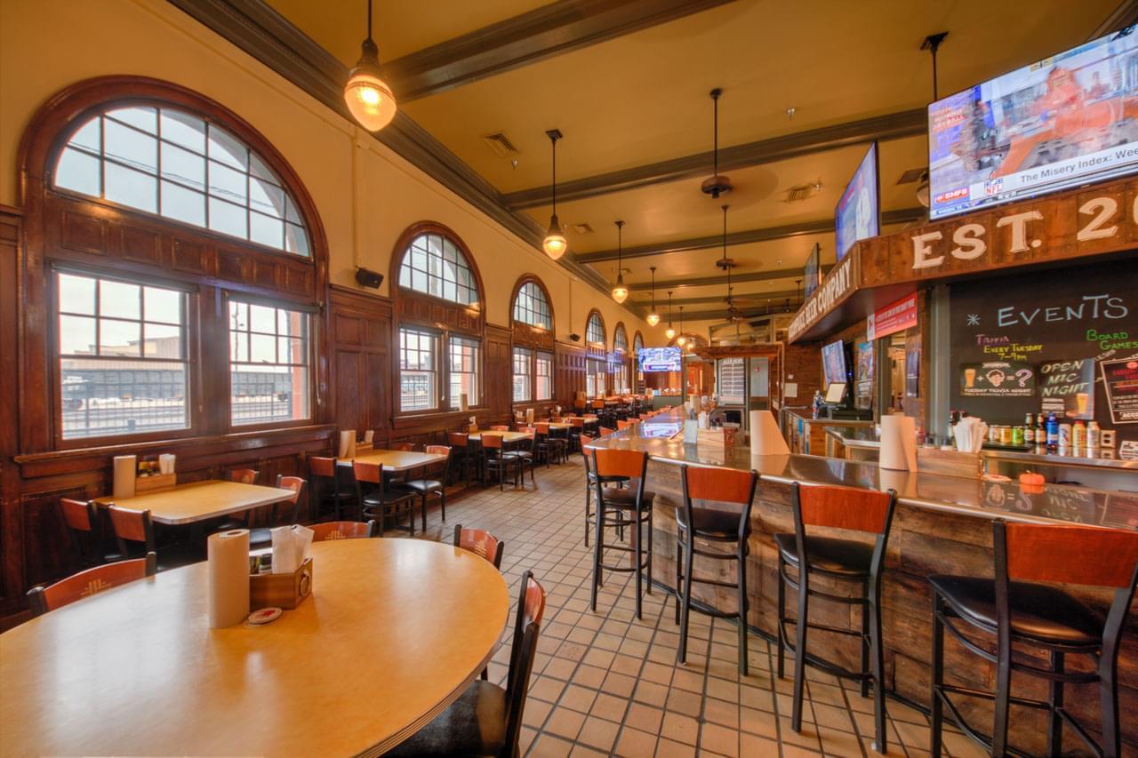 Accomplice Beer Company Cheyenne, WY brewery bar