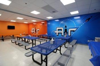 Air Trampoline Sports Cliffwood NJ party room