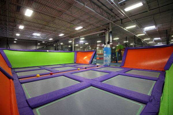 Air Trampoline Sports Ronkonkoma NY jump area