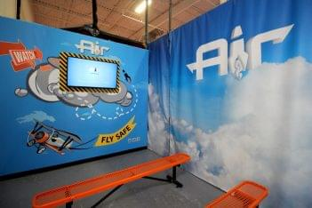 Air Trampoline Sports Ronkonkoma NY pre-flight video