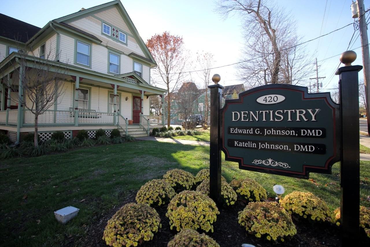 Johnson Family & Cosmetic Dentistry Bedminister, NJ dental office
