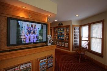 Johnson Family & Cosmetic Dentistry Bedminister, NJ reception