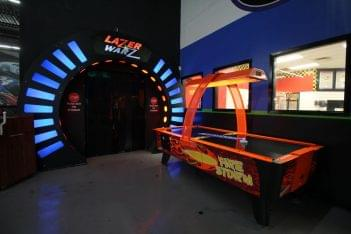 Karts Indoor Raceway Lake Ronkonkoma, NY go-kart track laser tag air hockey