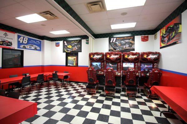 Karts Indoor Raceway Lake Ronkonkoma, NY go-kart track party room