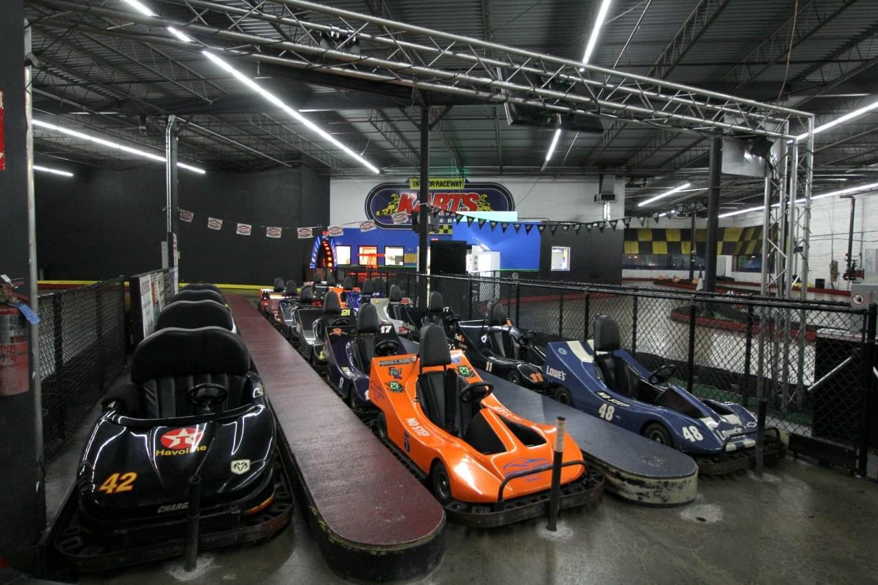 Karts Indoor Raceway – Lake Ronkonkoma, NY – See-Inside Go-Kart Track