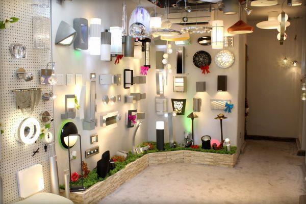Luminati San Juan, Puerto Rico Lighting Store display