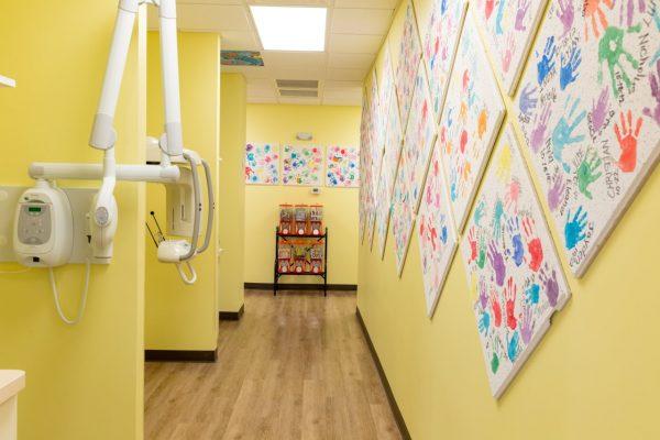 Pediatric & Adolescent Dentistry Birmingham, AL Dental Clinic hallway xray