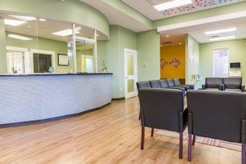 Pediatric & Adolescent Dentistry Birmingham, AL Dental Clinic reception waiting room