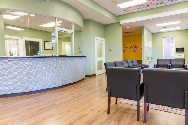 Pediatric & Adolescent Dentistry Birmingham, AL Dental Clinic reception waiting room