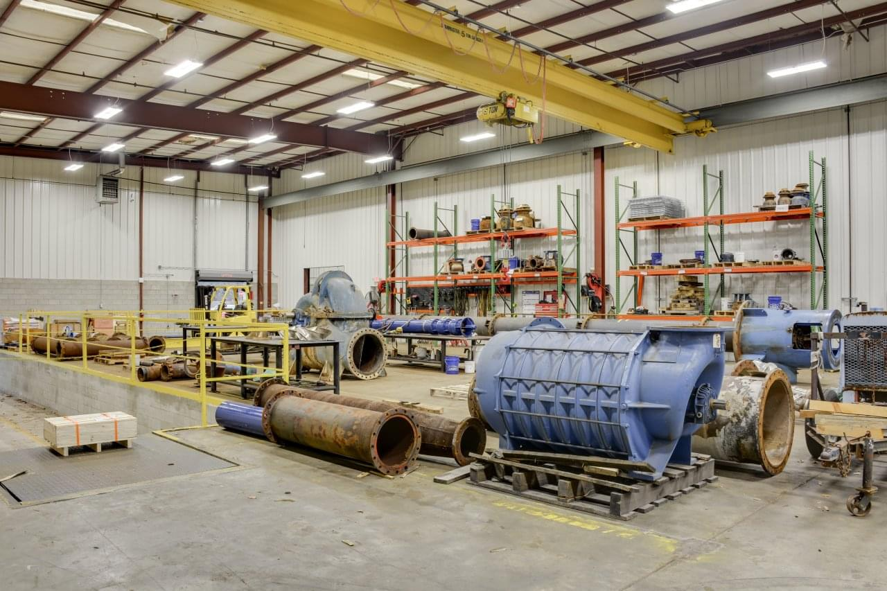 Southeast Pump Specialist, Inc. Augusta GA pipes