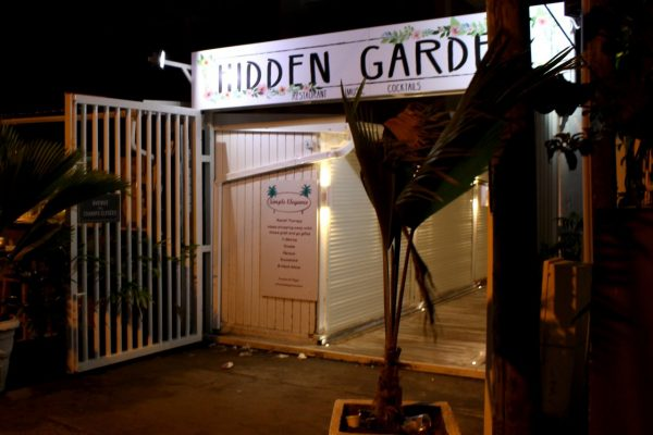 Hidden Garden Grand Case Saint Martin restaurant front