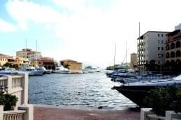 Porto Cupecoy Shopping Center Mall Sint Maarten boat marina