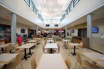 Atlantic City Service Area Galloway, NJ Rest Stop dining area