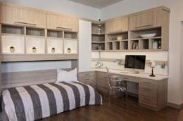 California Closets Pasadena, CA Interior Design pullout bed desk