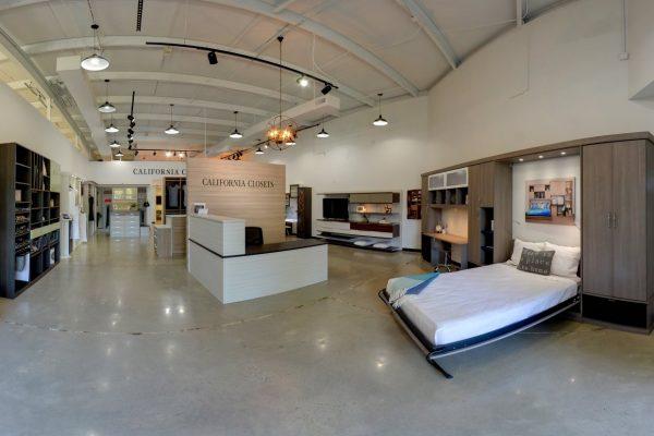 California Closets Raleigh, NC Custom Interiors display murphy bed